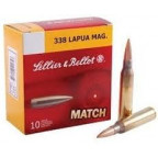 338 Lapua Magnum Precision Range 300g FMJ Sellier & Bellot Ammunition