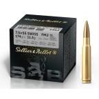 7.5X55 Swiss 174g FMJ Sellier & Bellot Ammunition