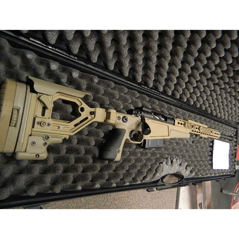 "Accuracy International AX Performance Chassis Remington 300wm 26"" Varmint Barrel +20 MOA Rail+Tactical Bolt+ Fluted Bolt+ Muzzle Brake+ Hard Case"