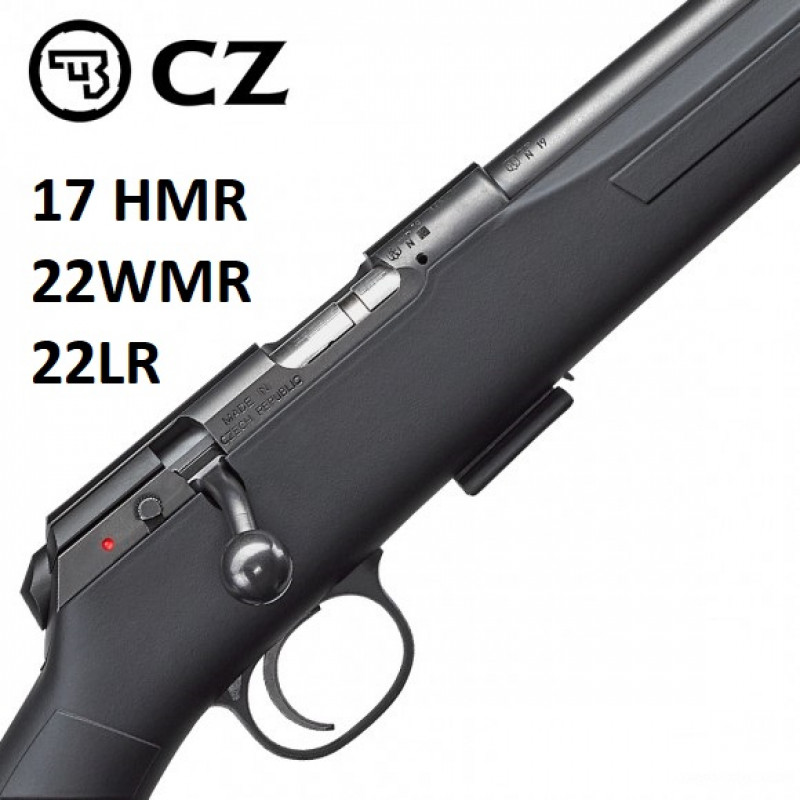 CZ 457 SYNTHETIC 20 INCH SPORTER THREADED Available In 17HMR 22LR 22WMR