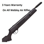 WEBLEY VMX QUANTUM AIR RIFLE BLACK POLYMER .22 (5.5) High Power with Silencer **Upgraded Scope and Mounts** Scope & Mounts + Pellets Package Will Be Available